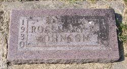 Rosemary Delores Johnson (1930-1939) - Find A Grave Memorial