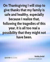 bobby jindal thanksgiving quotes quotehd