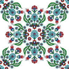 turkish arabic pattern vector seamless