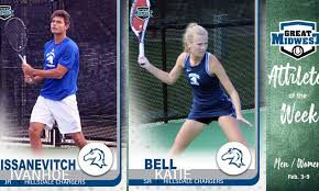 Tennis Athletes of the Week (Feb. 12) - Great Midwest Athletic ...