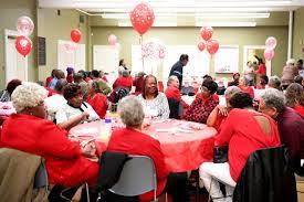 Photos: District 9 Valentine social
