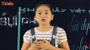 Phim hoạt hình hay nhất: Bụi phấn Bé Khánh Ngọc Nhạc thiếu nhi 20-11