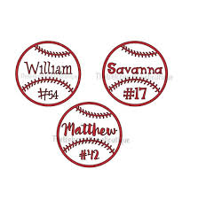 Personalized Baseball Decal With Name Baseball Mom Decal Etsy
