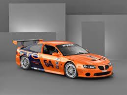 Pontiac Gto Orange Race Drift Car Wall Trailer Graphic Decal