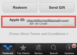 gift card balance in itunes
