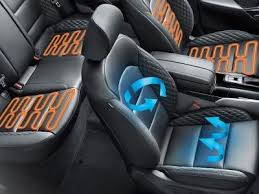 air conditioned cooled seats