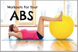 ab workouts using a ility exercise ball