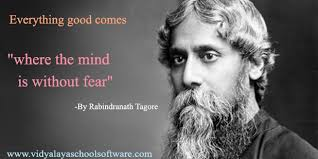 rabindranath tagore molded educational equality