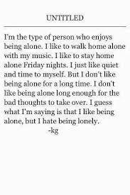 feeling alone tumblr
