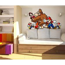 Shop Super Mario Gorilla Game Full Color Wall Decal Sticker K 940 Frst Size 20 X31 Overstock 21012870