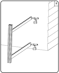 How Do I Mount My Vinyl Fence Rail To A Pre Existing Wall Or Fence Page 2 Of 5 Wambam Fence Knowledge Base