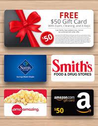 gift card offer gardner dental