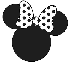 Disney Car Window Decal Ebay Minnie Mouse Silhouette Disney Silhouettes Minnie Mouse Bow