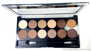 mua heaven and earth palette review