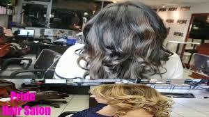 Balayage made in Pride Hair Salon Miami - YouTube