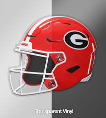 Uga Georgia Bulldogs Sticker 4 Football Helmet Die Cut Vinyl Photo Wright Photo