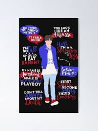 bts jungkook quotes poster by phoenixisarmy redbubble