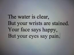 lost red blood quote depressed depression sad quotes pain hurt