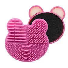 makeup brushes bear shape silicone
