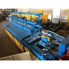 Automatic Chain Link Machine Chain Link Fencing Machine Manufacturer From Ahmedabad