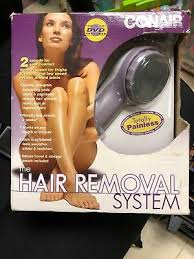 conair hair removal system hb5 new