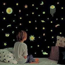 Luminous Cats Moon Star Wall Sticker Stars Glow For Kids Rooms Glow In The Dark Home Decor Good Night Fluorescent Mural Poster Full Hd Widescreen Wallpapers Full Resolution Hd Wallpapers From Zhhanya