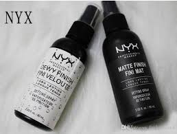 nyx makeup setting spray matte finish