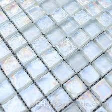 crystal glass mosaic tile backsplash