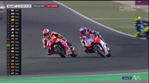 Dovizioso VS Marquez at Losail Qatar! - YouTube