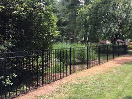 Black Aluminum By Onguard Fence Styles Outdoor Aluminum Fence