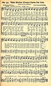 Cornelius' Gospel Songs No. 3 205. Your mother is your friend | Hymnary.org