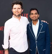Adam Scott: Aziz Ansari 'Doing Great' After Sexual Misconduct Claim