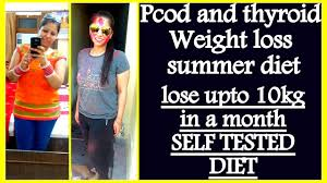 pcod pcos summer t plan for weight