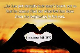 ecclesiastes eternity in the hearts of men
