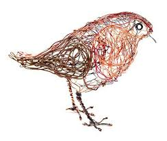 Celia Smith Wire Bird Robin You can have a go at making this with ...