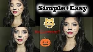kitty cat halloween makeup tutorial
