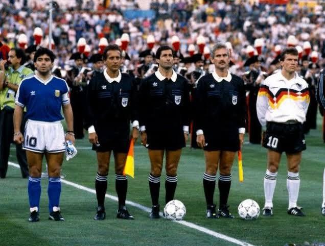 Lothar Matthaus Vs Diego Maradona