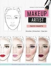 ebook p d f makeup artist face charts