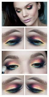 step by step eye makeup for hazel eyes