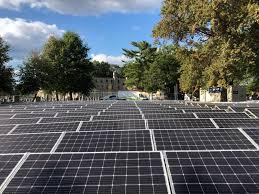 solar installation at the monastery