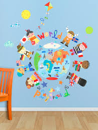 The World Is Your Playground Global Travel Peel Place Oopsy Daisy