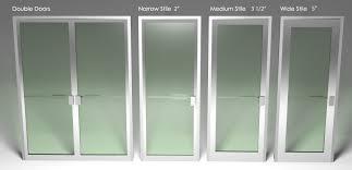 aluminum glass doors for residential