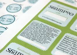 inci names on cosmetic labels