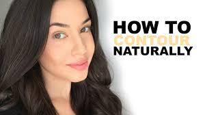 contour naturally for everyday makeup