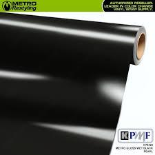 Metro Gloss Wet Black Pearl Kpmf Vinyl Wrap Metro Restyling