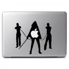 The Walking Dead Michonne With Katana Sword And Two Zombies In Shackles Apple Macbook Air Pro 11 13 15 17 Vinyl Decal Sticker Dreamy Jumpers