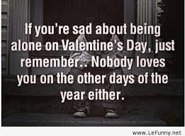valentine day valentine day sad quotes
