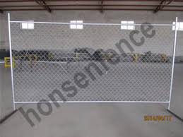 Chain Link Temporary Fence Panels Anping Hongsheng Wire Mesh Factory