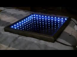 infinity mirror table with 5050 rgb