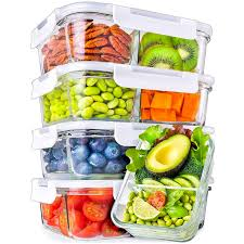 glass meal prep containers glass food